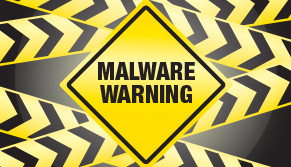Computer Malware Virus Warning